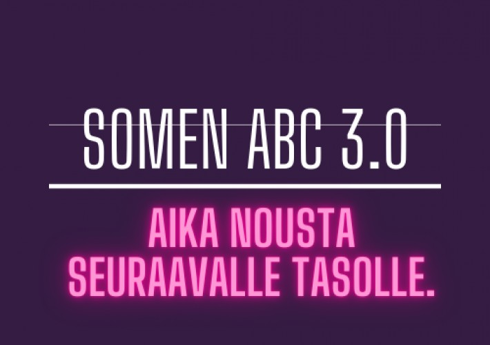 SOMEN ABC KIRJALLINEN SOME