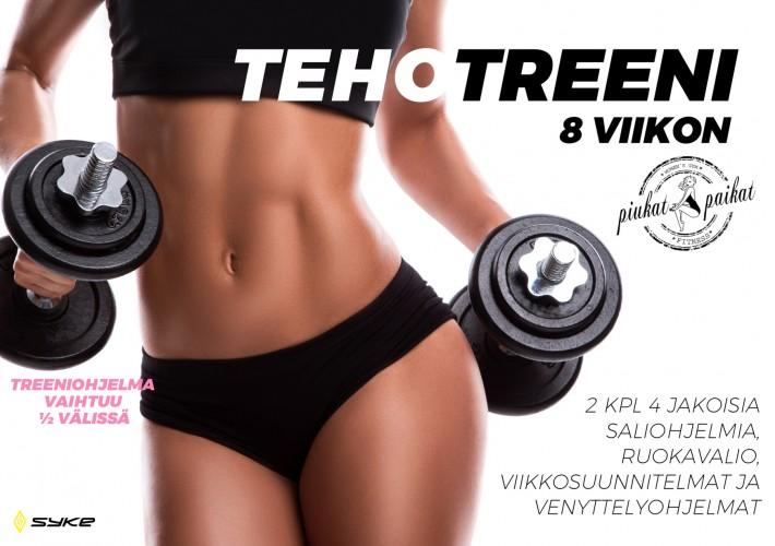 8 viikon TehoTreeni -valmennus