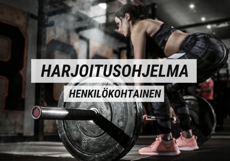 Harjoitusohjelma   Henkilökohtainen (6 viikkoa)