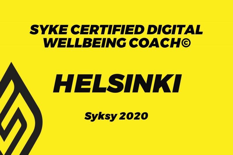 Digital Wellbeing coach (HKI) - Syyskuu
