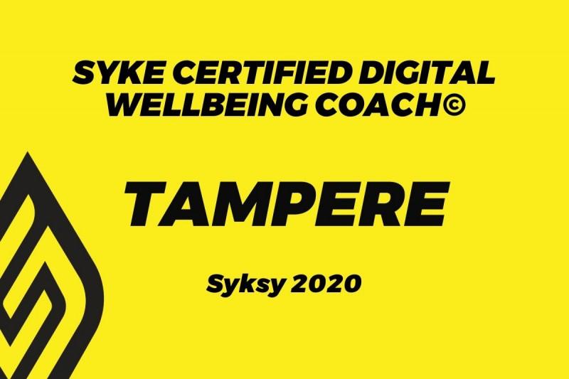 Digital Wellbeing coach (TRE) - Elokuu
