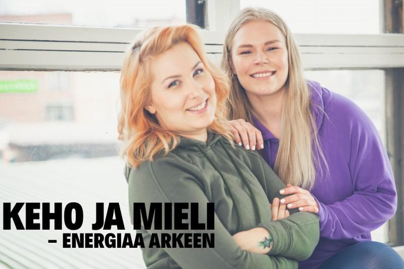 Keho ja Mieli: Energiaa Arkeen- verkkovalmennus