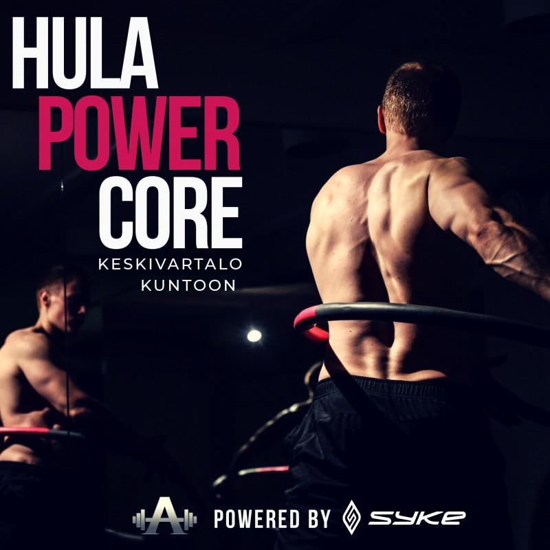 HULA POWER CORE - KESKIVARTALO KUNTOON