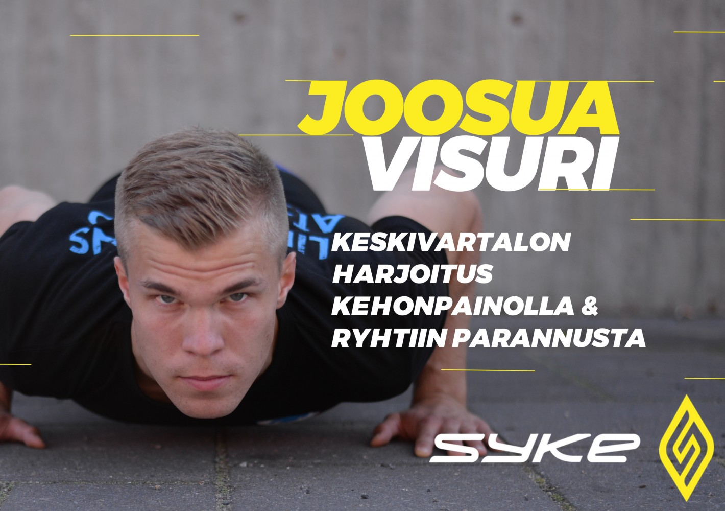 Keskivartalon harjoitus kehonpainolla - Ryhtiin parannusta by Joosua Visuri