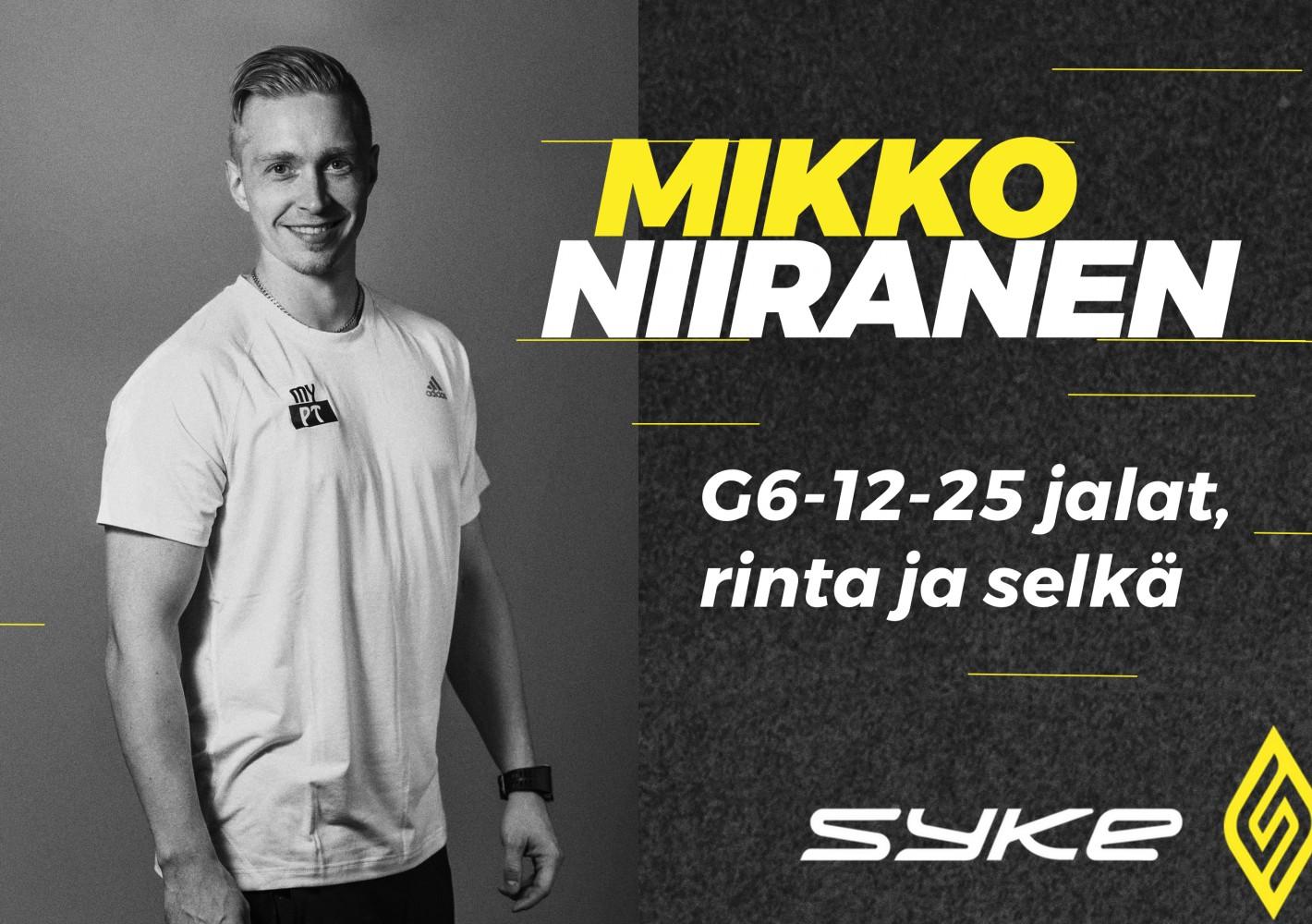 6-12-25 jalat, rinta ja selkä by Mikko Niiranen