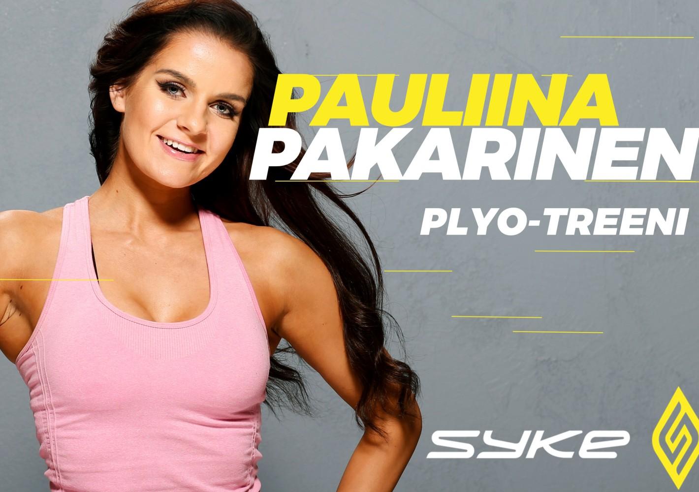 Plyo - rasvanpolttotreeni by Pauliina Pakarinen