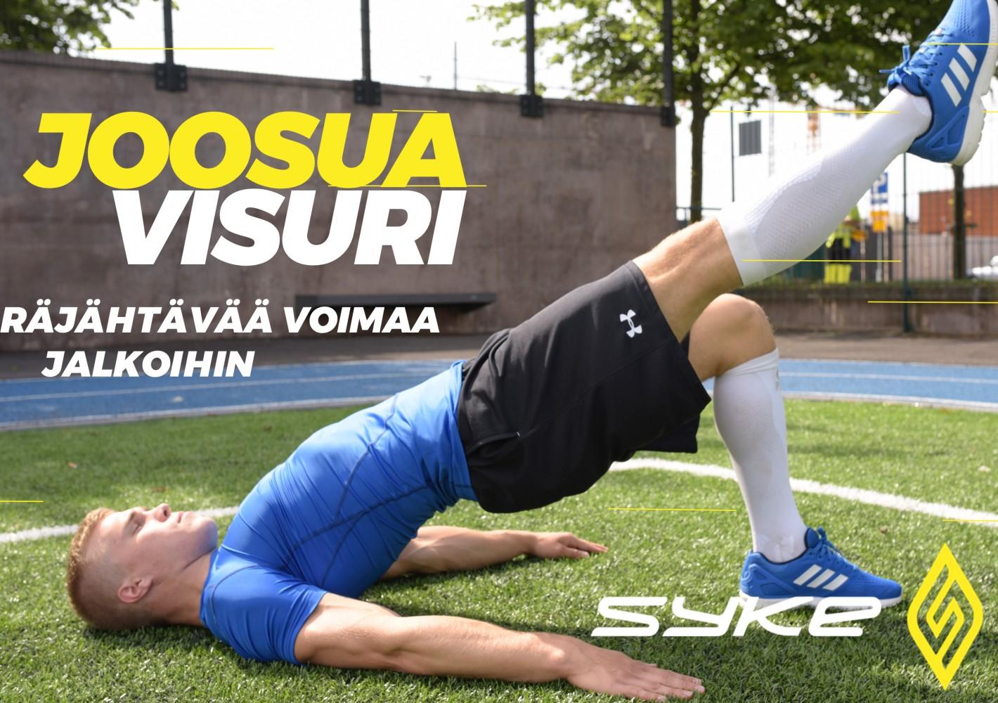 Räjähtävää voimaa jalkoihin by Joosua Visuri