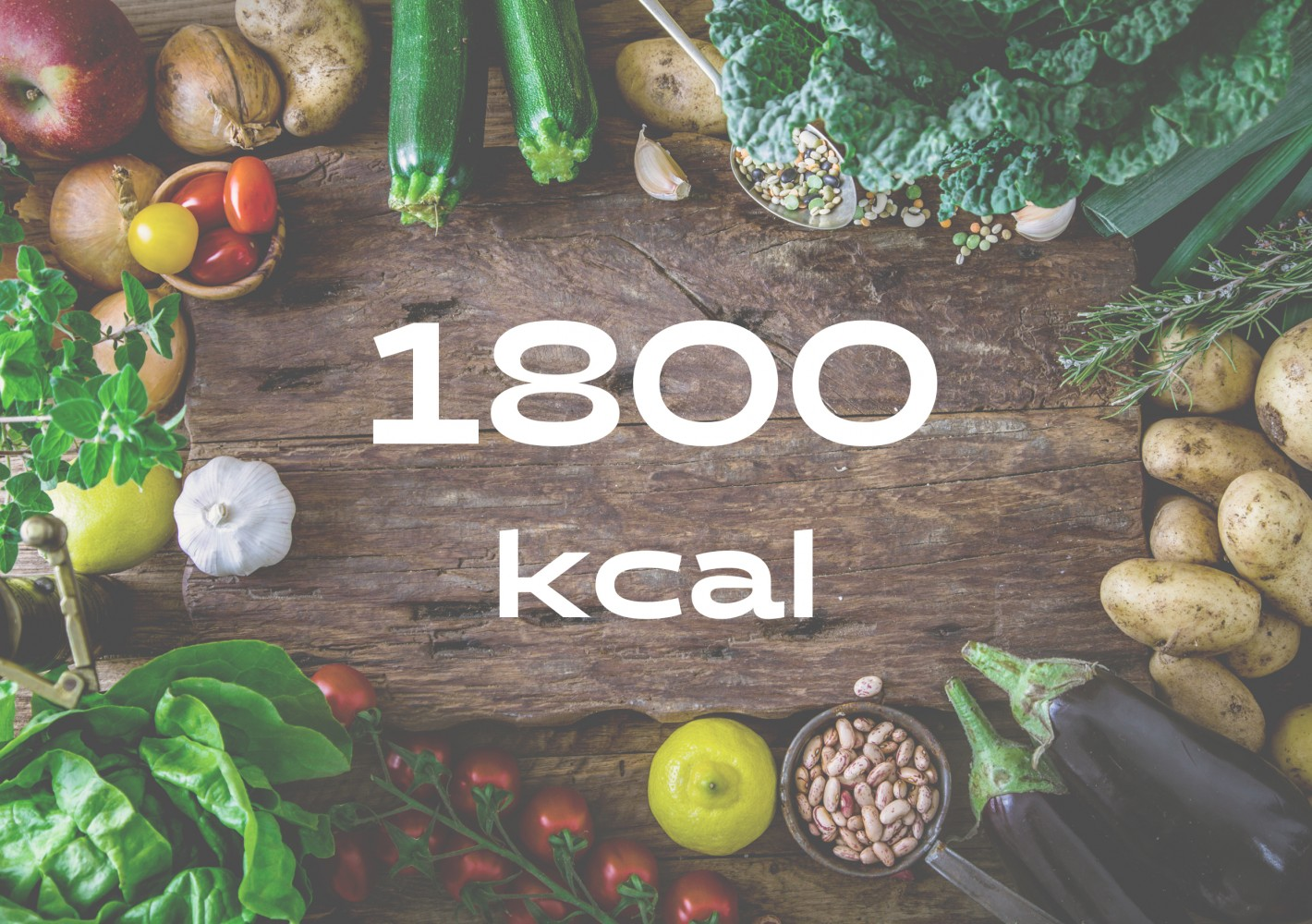 Ruokavalio 1800kcal